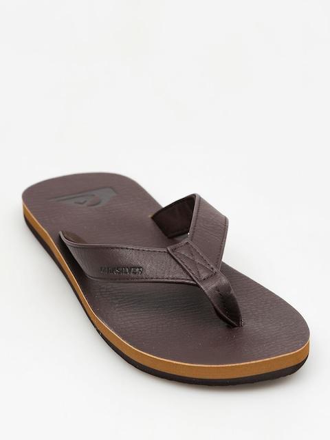 Quiksilver Flip-flops Molokai Nubuck (all brown)
