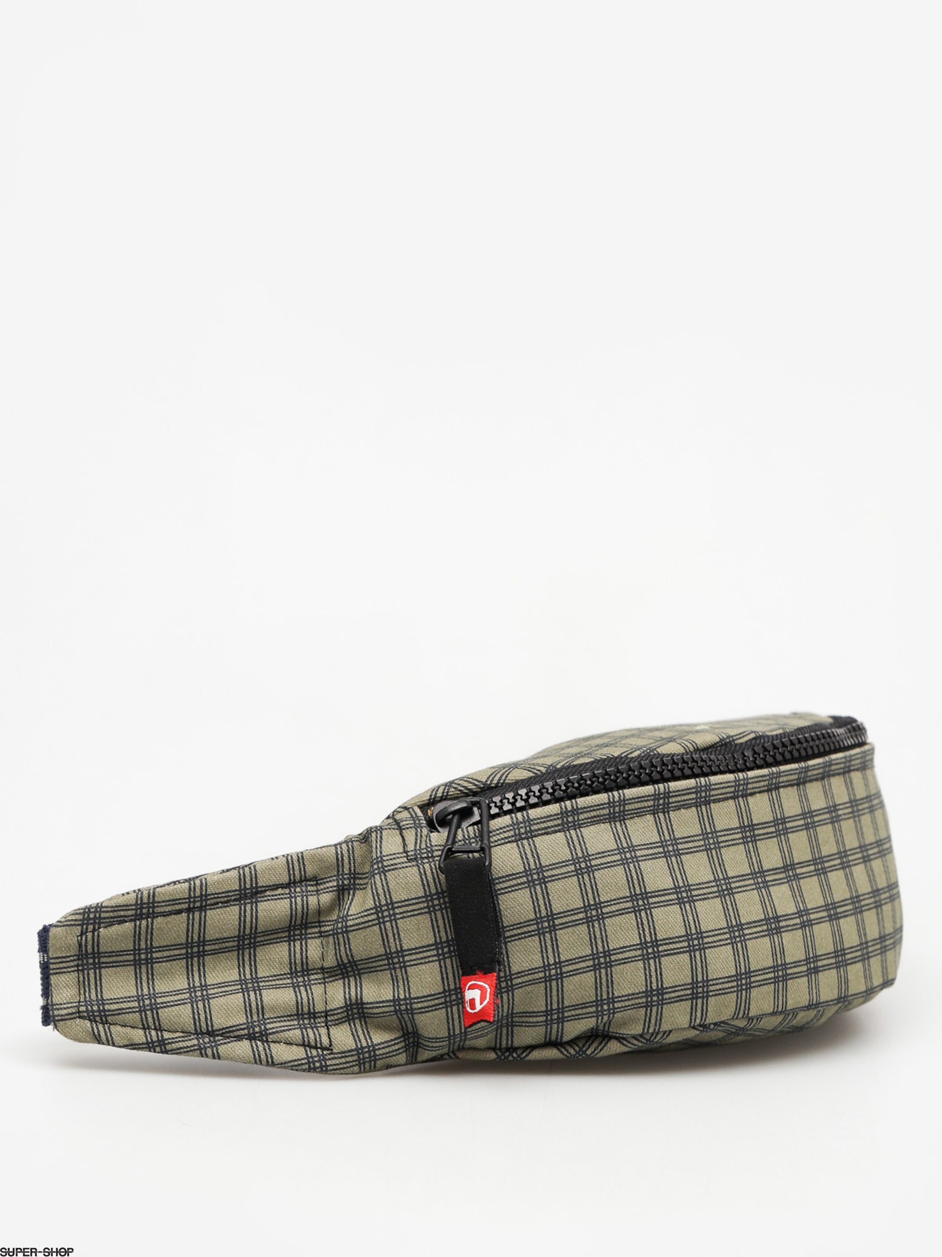 Malita Bum bag Checked (khaki/navy)