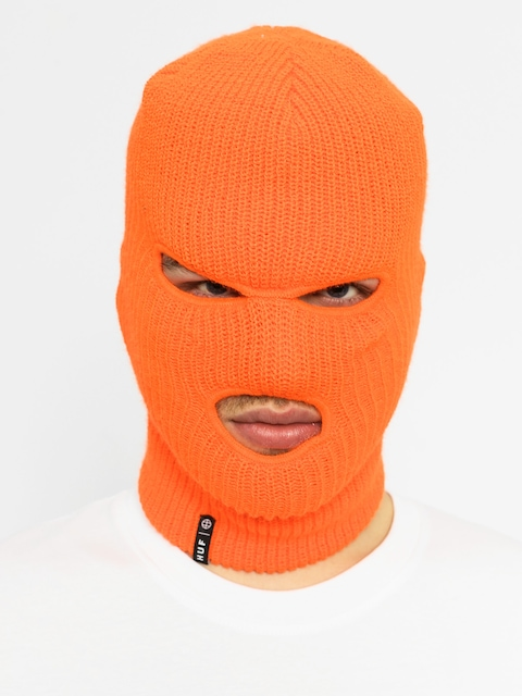 HUF Kapuzenmütze Facemask (blaze orange)