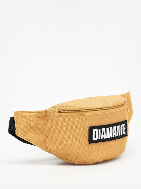 Diamante Wear Bum bag Black Logo (mustard)