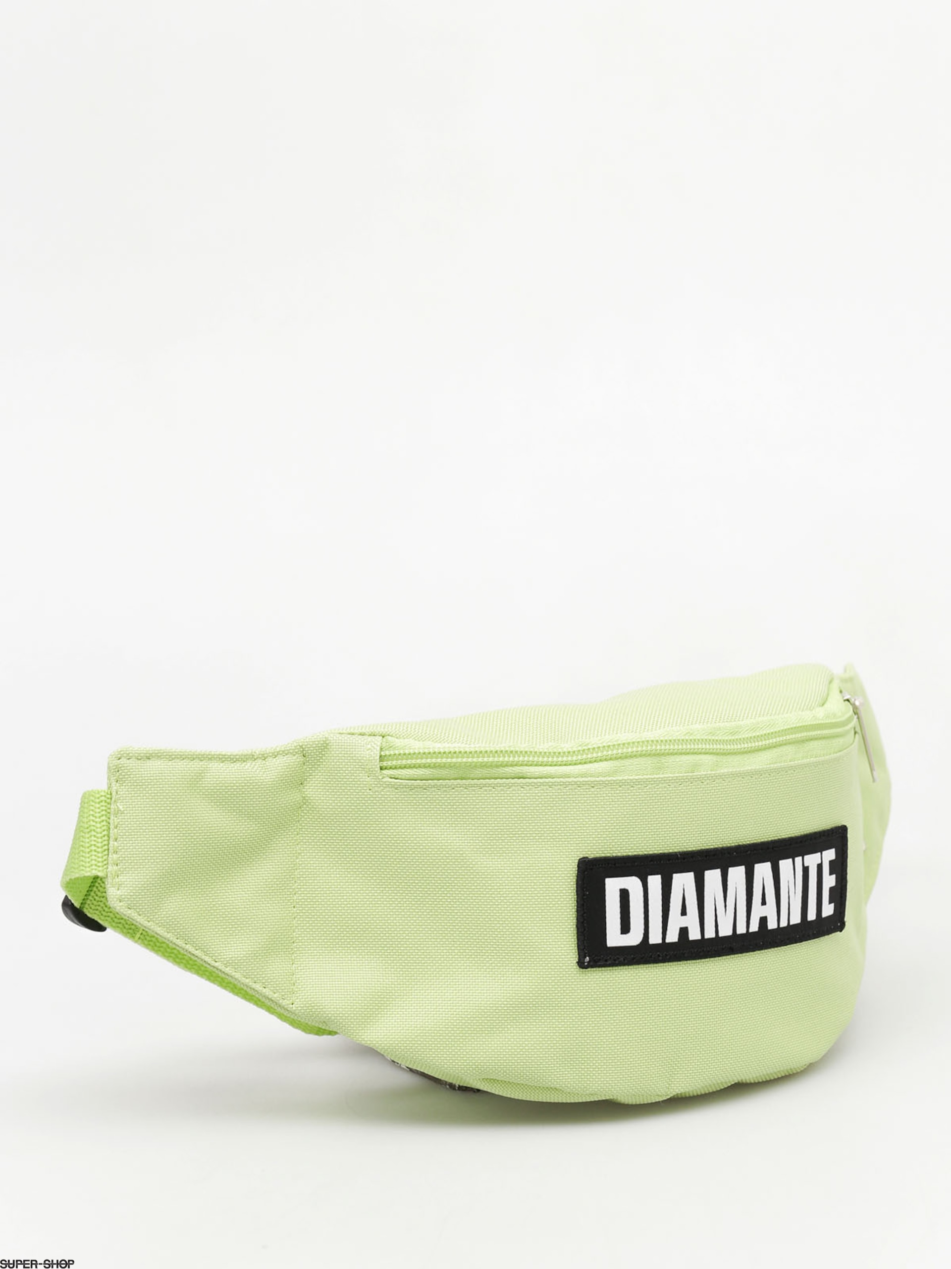 Diamante Wear Bum bag Black Logo (light green)