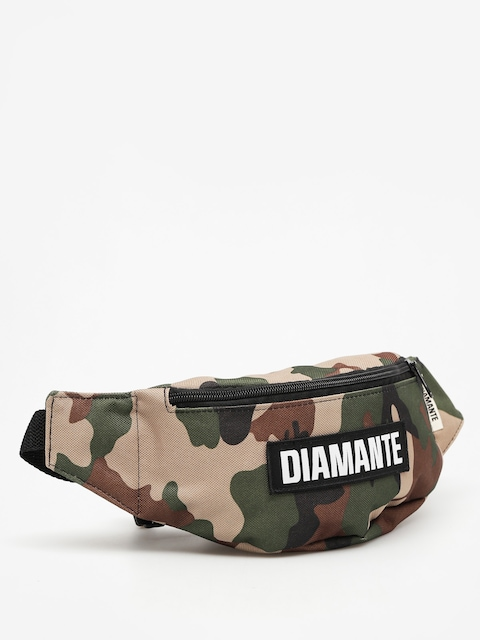 Diamante Wear Bum bag Black Logo (camo)
