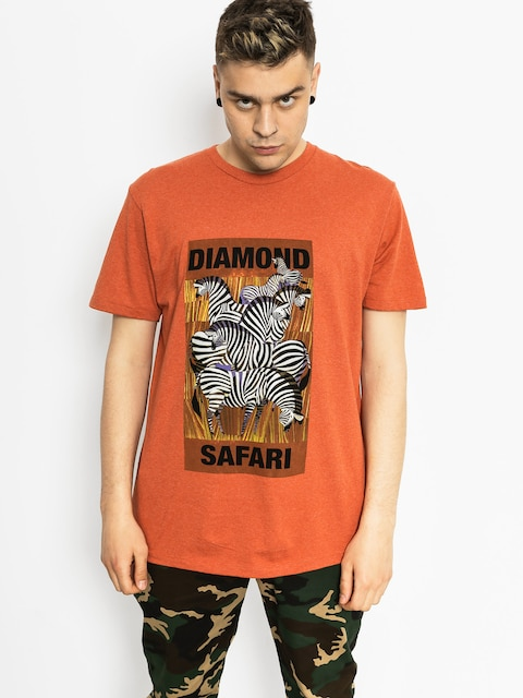 Diamond Supply Co. T-shirt Safari