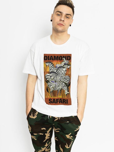 Diamond Supply Co. T-shirt Safari (white)