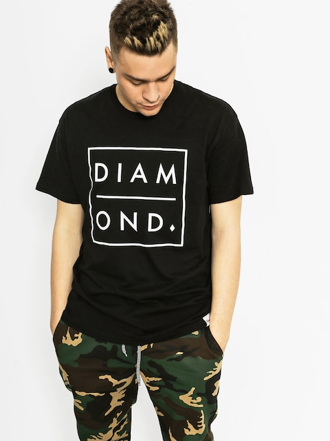 Diamond Supply Co. T-shirt Outline (black)