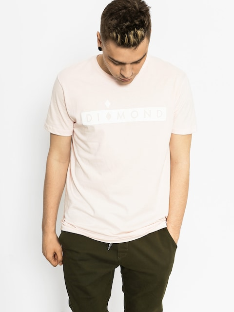 Diamond Supply Co. T-shirt Starboard (pink)