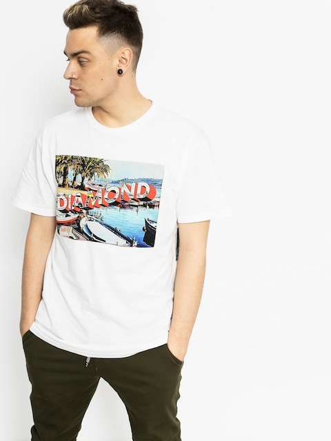 Diamond Supply Co. T-shirt Get Avay (white)