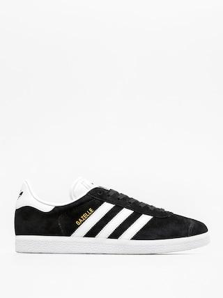 adidas Originals Gazelle Shoes (cblack/white/goldmt)