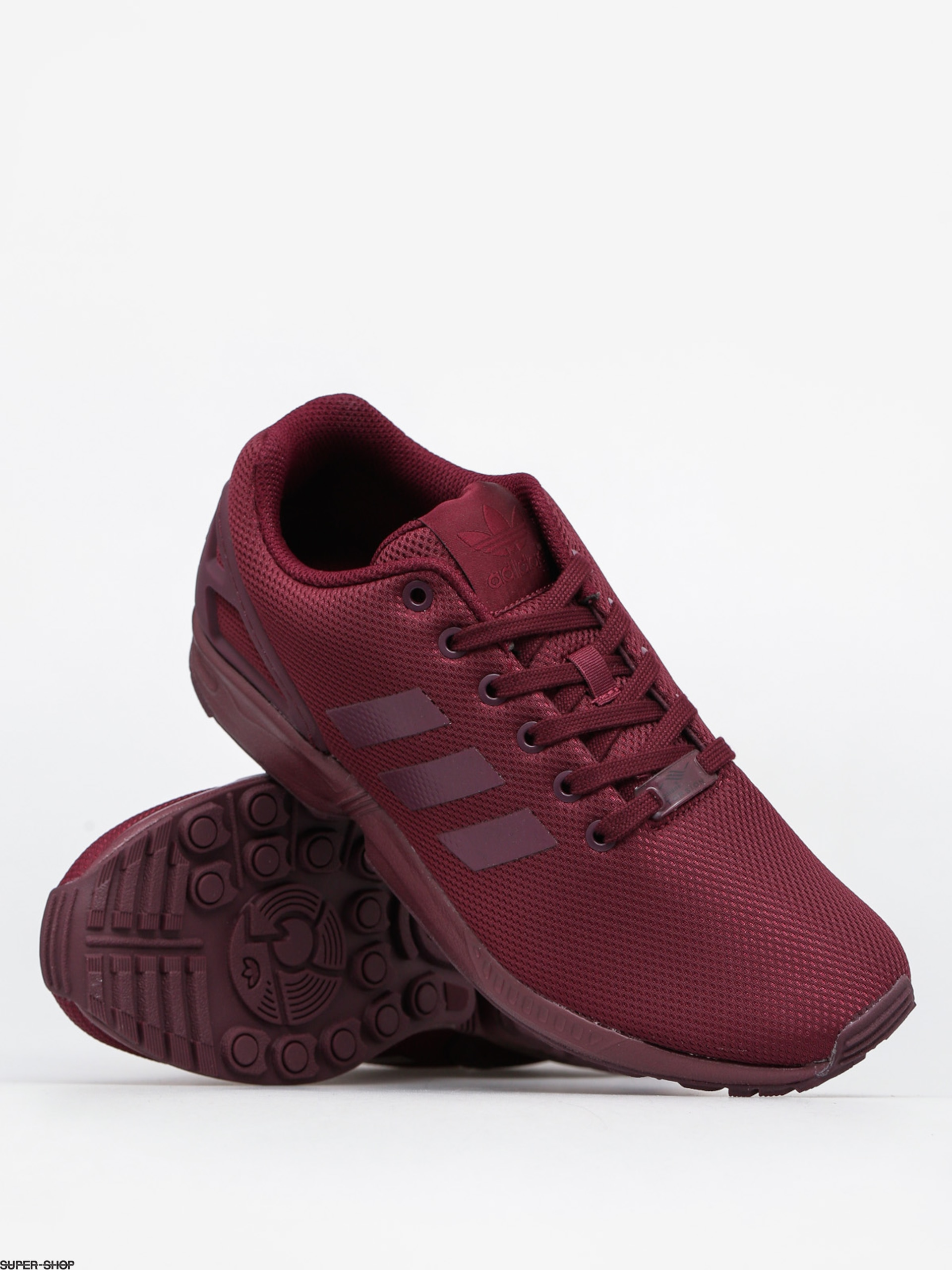 new style 8c1aa a9496 adidas Schuhe Zx Flux (maroon/ftwwht/cblack)