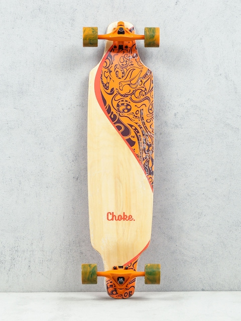 Choke Longboard Turnover II (orange)