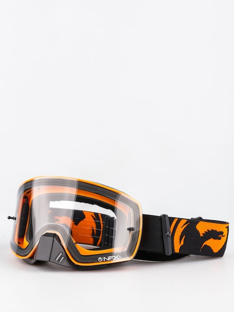 Dragon Motocross Goggle NFXs (black orange splkit/clear)