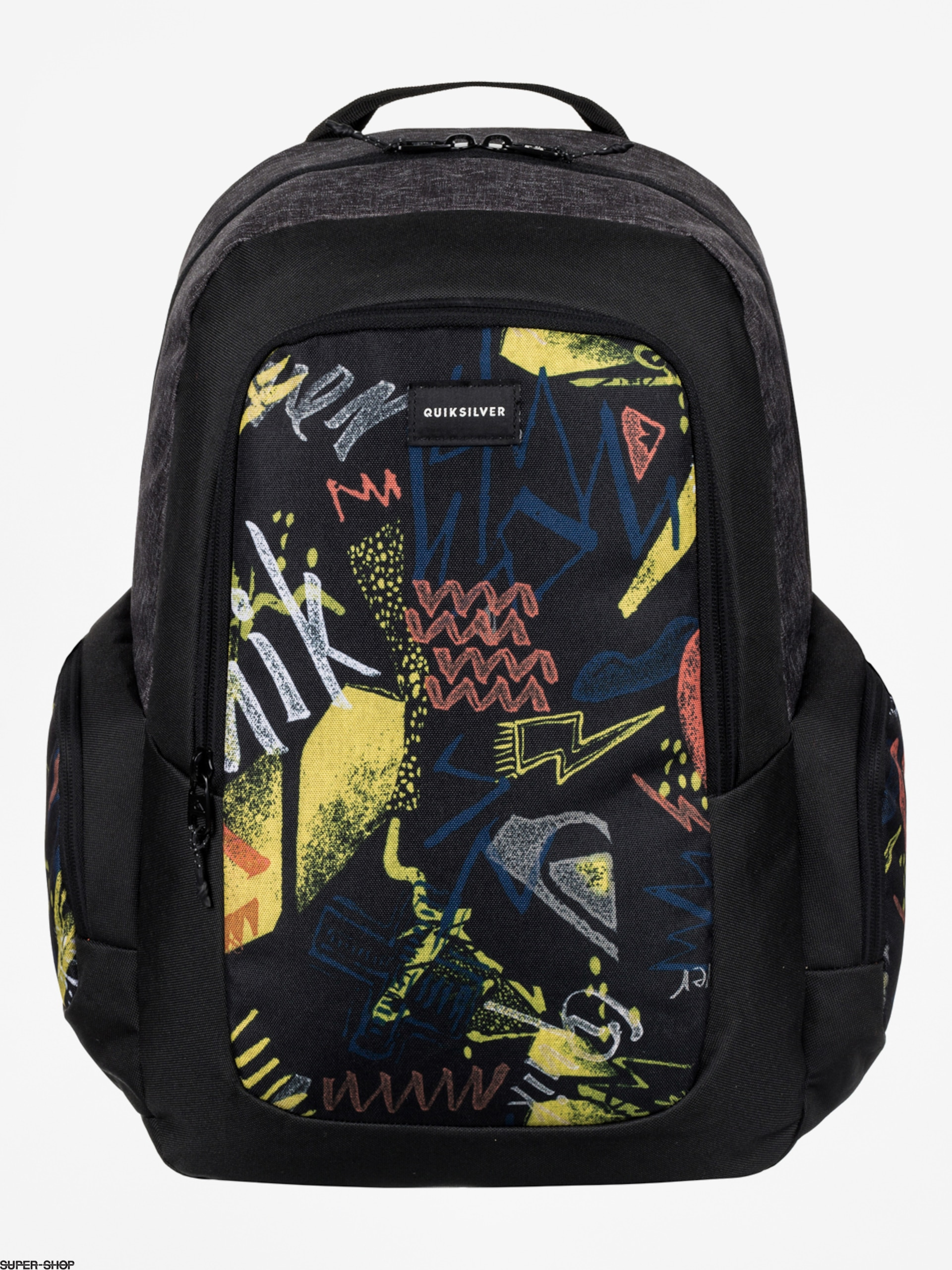 Quiksilver Backpack Schoolie (black thunder bolts)