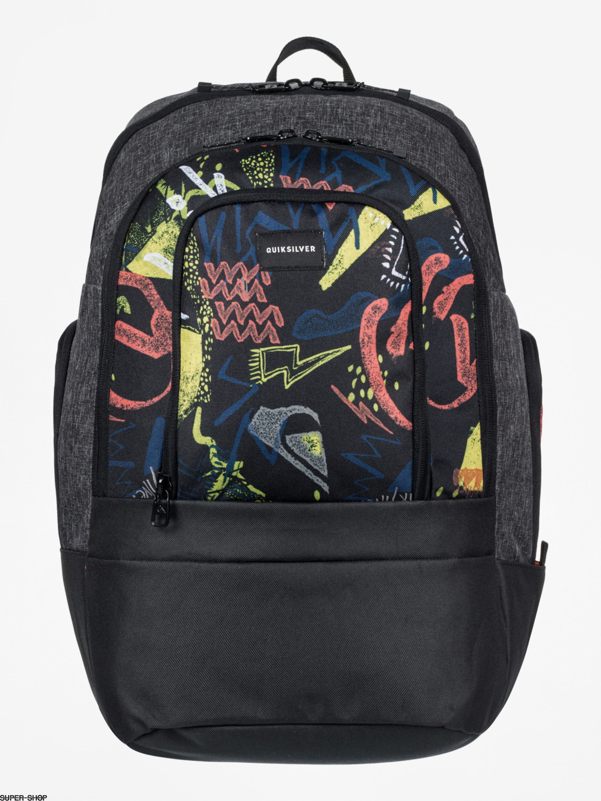 Quiksilver Backpack 1969 Special (black thunder bolts)