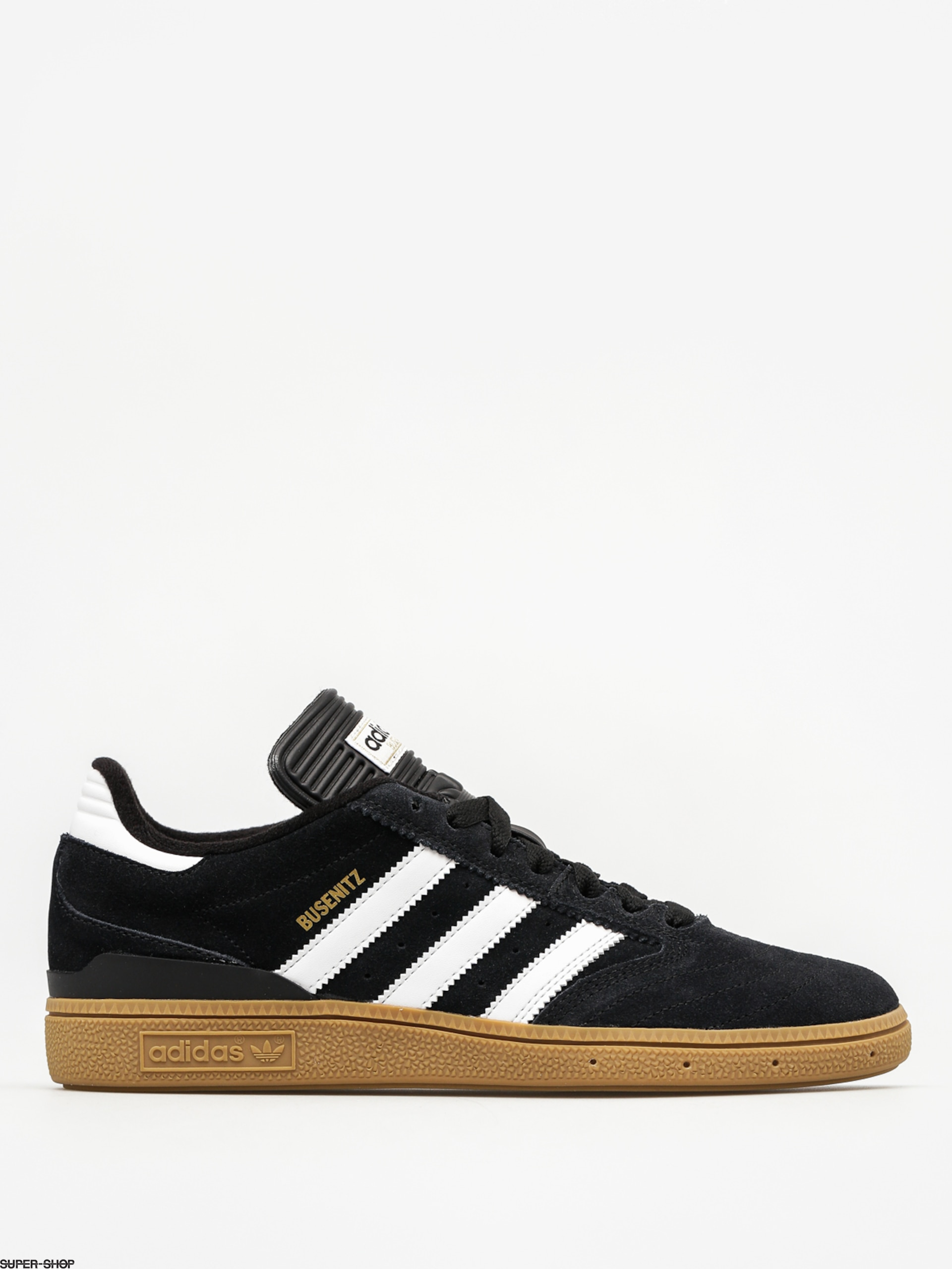 adidas shoes Busenitz (black1/runwht/metgol)