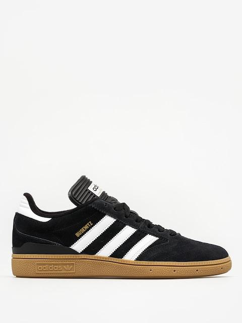 adidas shoes Busenitz (black1/runwht/metgol)