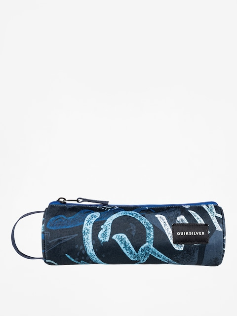 Quiksilver Pencil case Pencilo Print (dark denim thunder bolt)