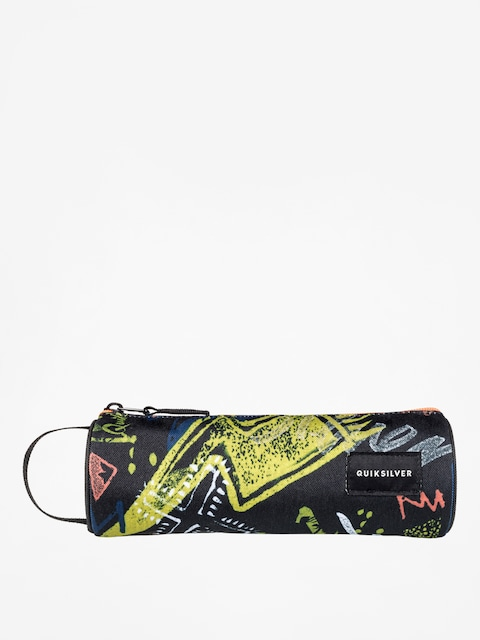 Quiksilver Pencil case Pencilo Print (black thunder bolts)