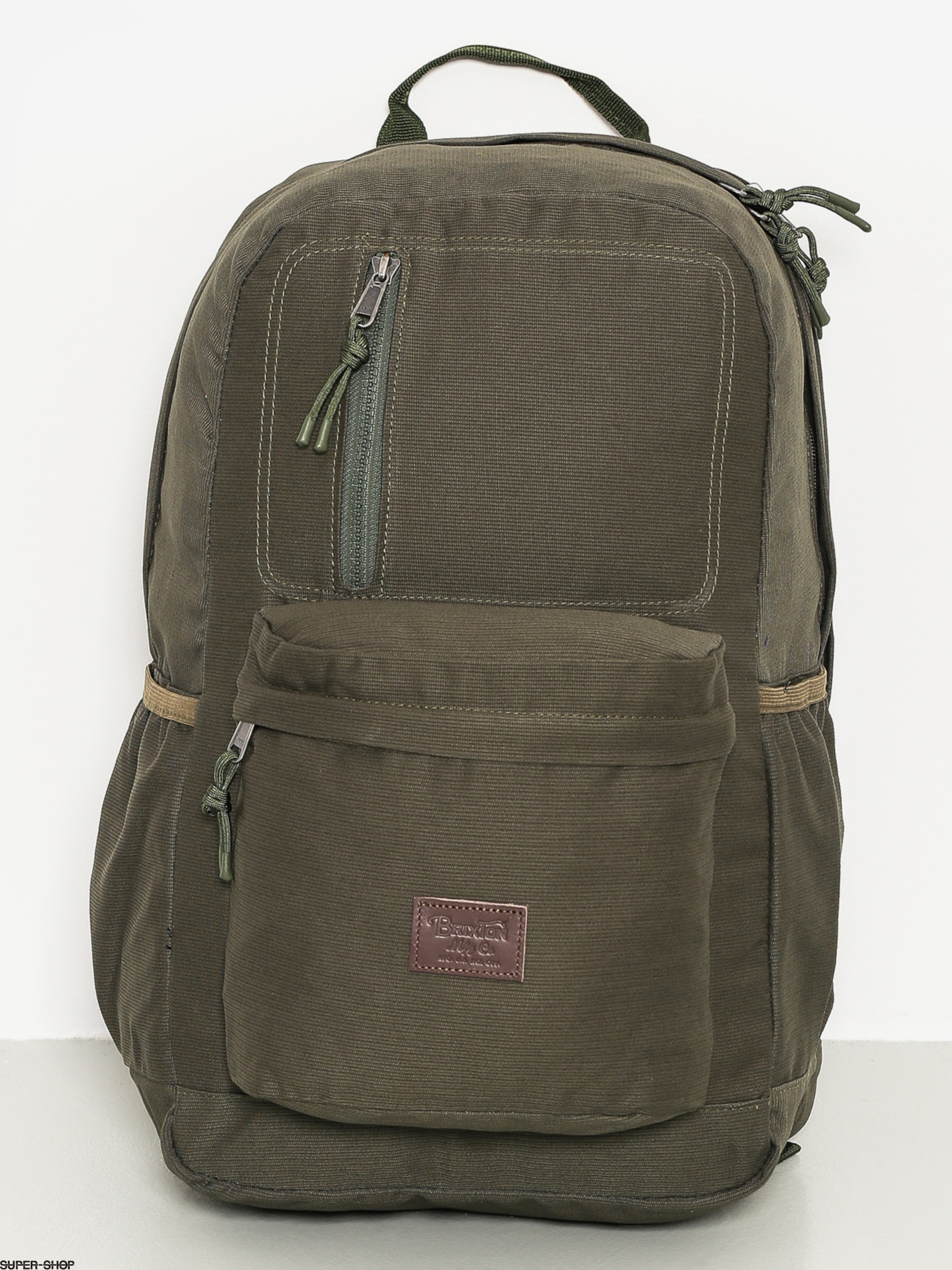 Brixton Backpack Bellows (olive)