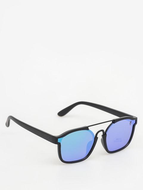 Majesty Sunglasses Wire (matt black/green emerald lens)