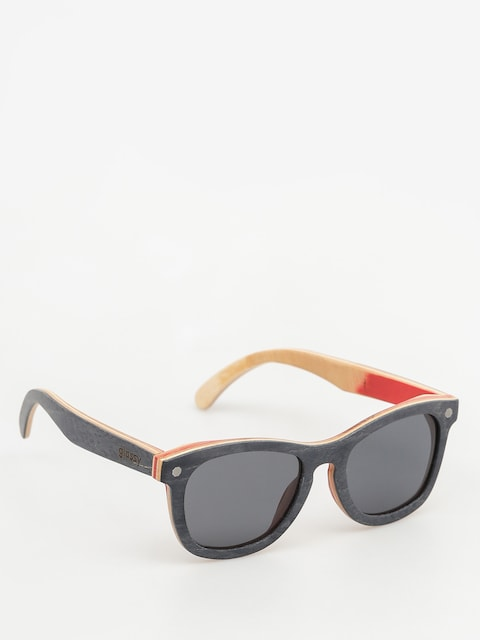 Glassy Sonnenbrille Deric Polarized Skateboard (wood)
