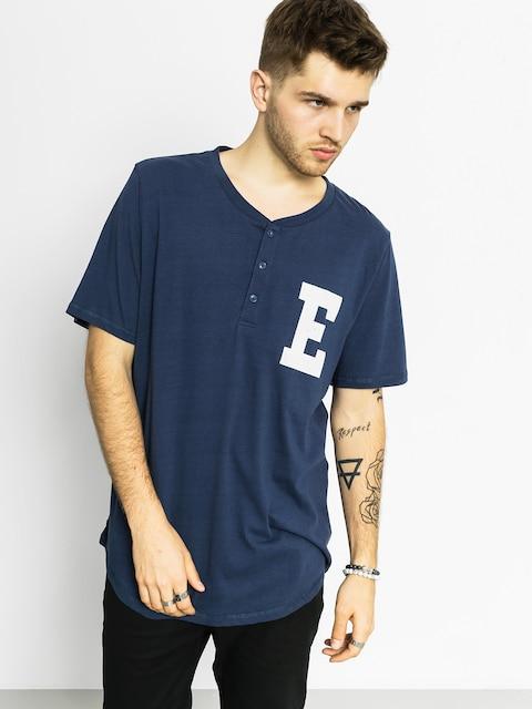 Element Polo T-Shirt Hatcher (dark denim)