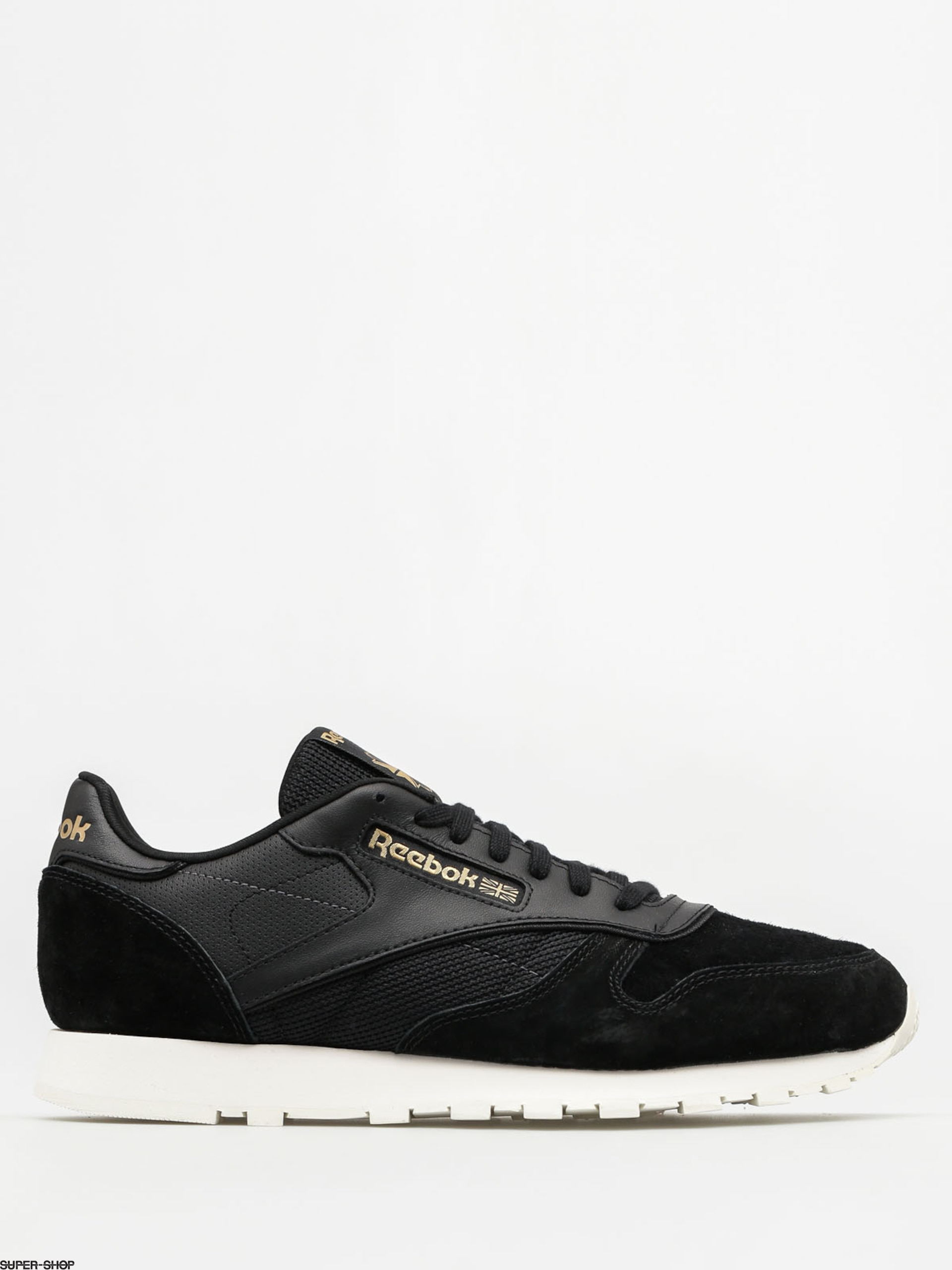 Reebok Shoes Cl Leather Alr (black/chalk/ashgry/br)
