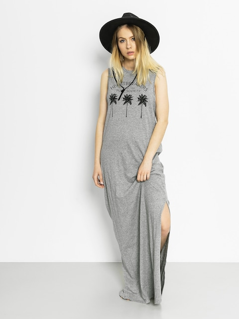 Roxy Dress Earlybird (grey heather)