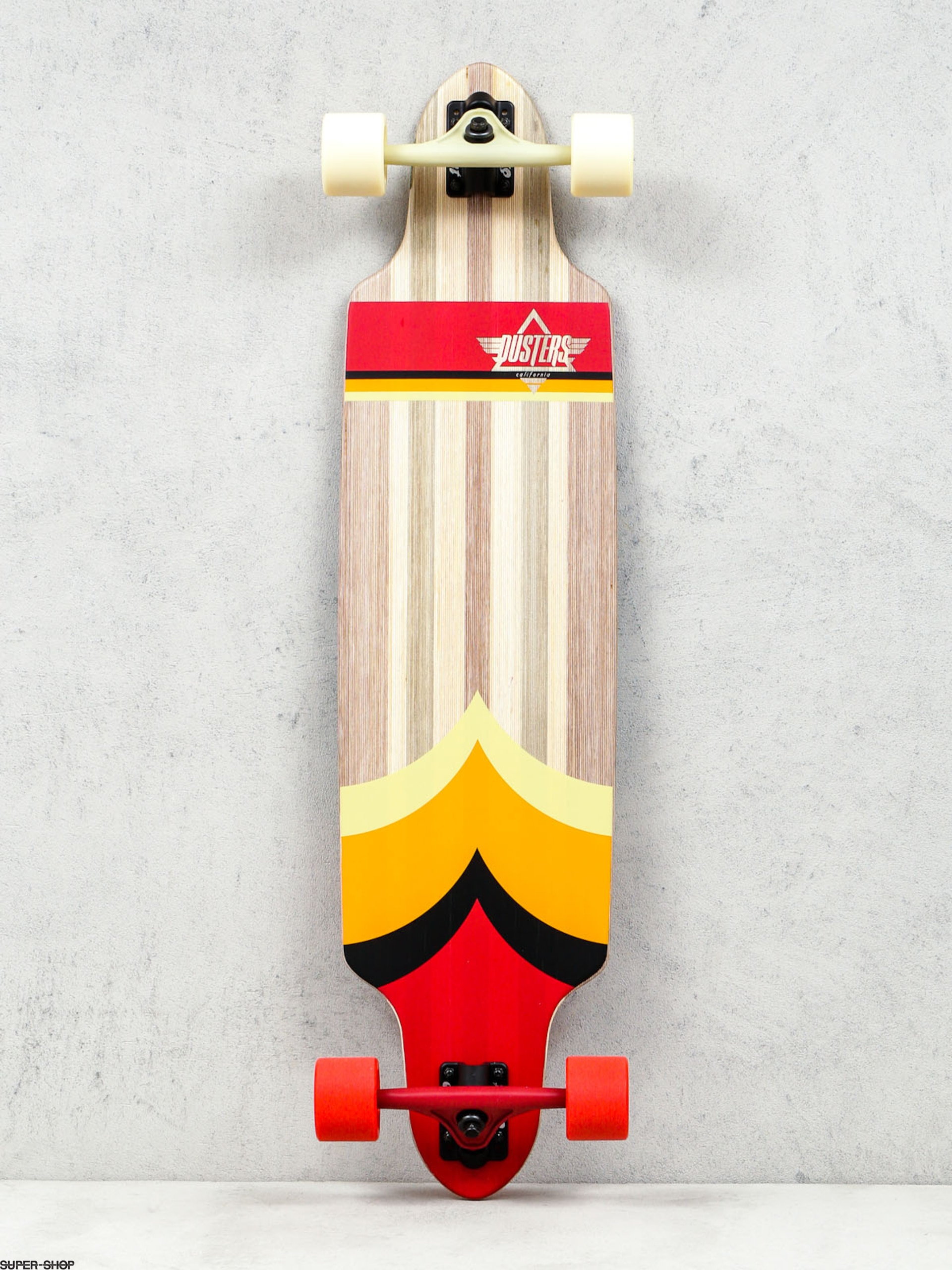Dusters California Longboard Totem (red/org)