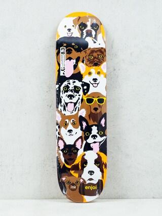 Enjoi Deck Dog Coleage R7 (brown)