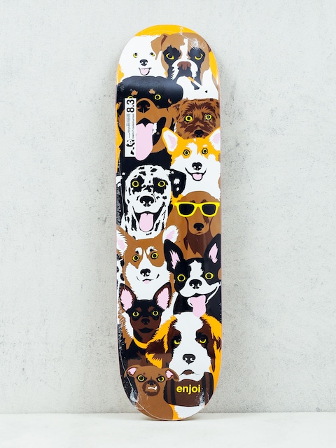 Enjoi Deck Dog Coleage R7 (brown)