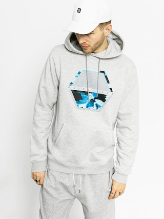 Quiksilver Hoodie Comfort Place HD (light grey heather)