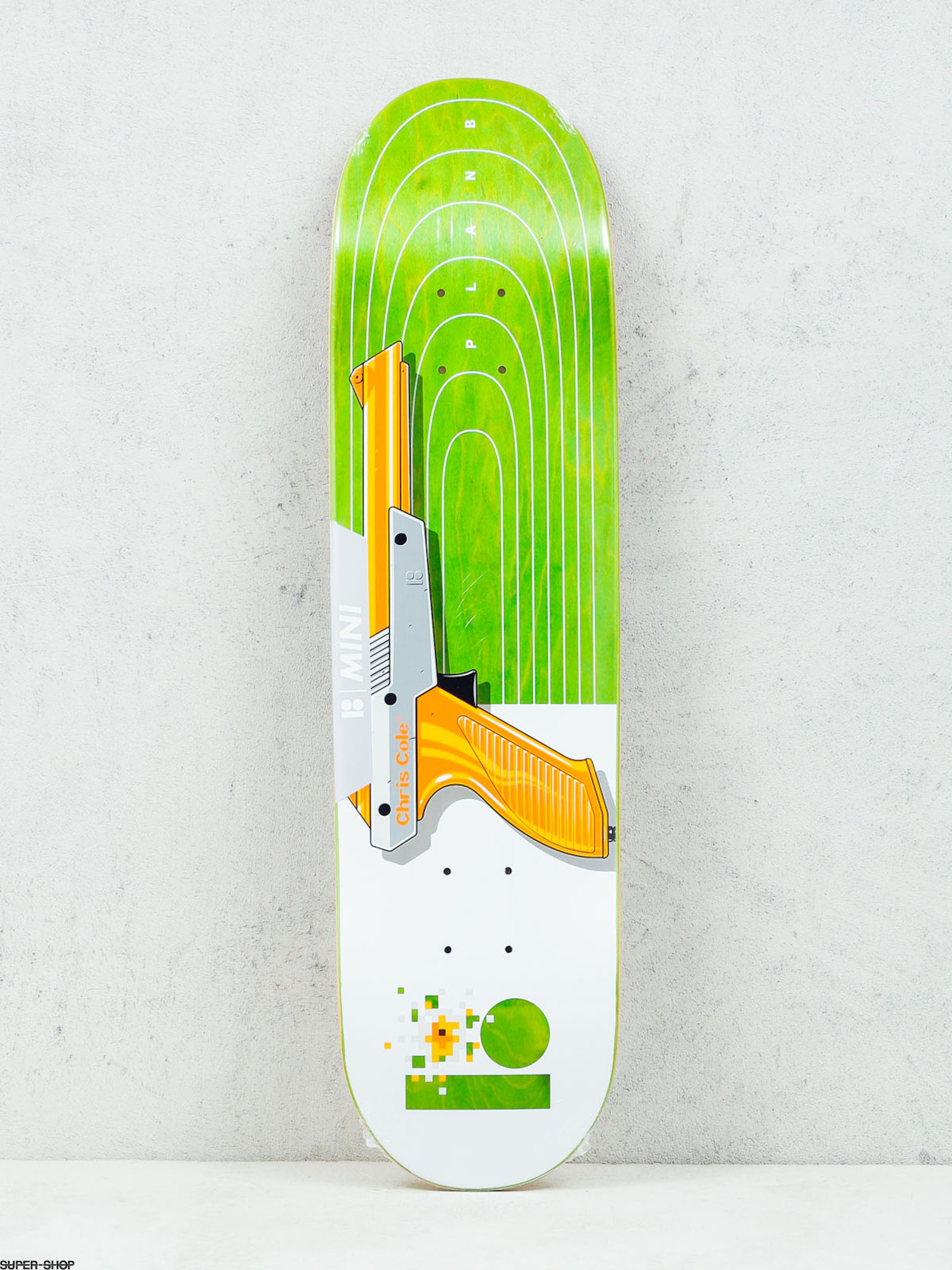 Plan B Deck Cole Heat Mini (white/green)