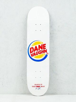 DGK Deck Vaughn Cease & Desist (white)