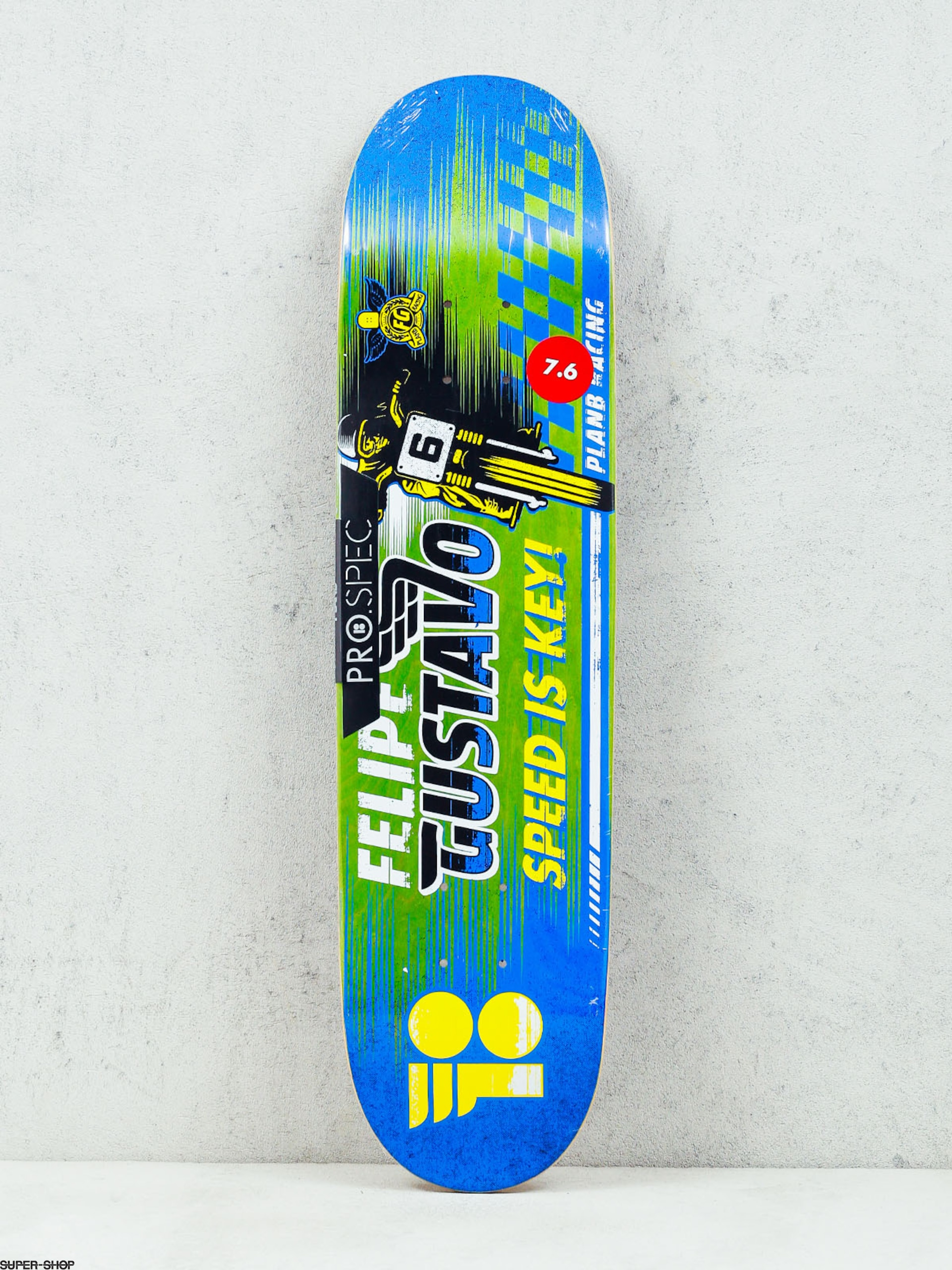Plan B Deck Felipe Victory (green/blue)