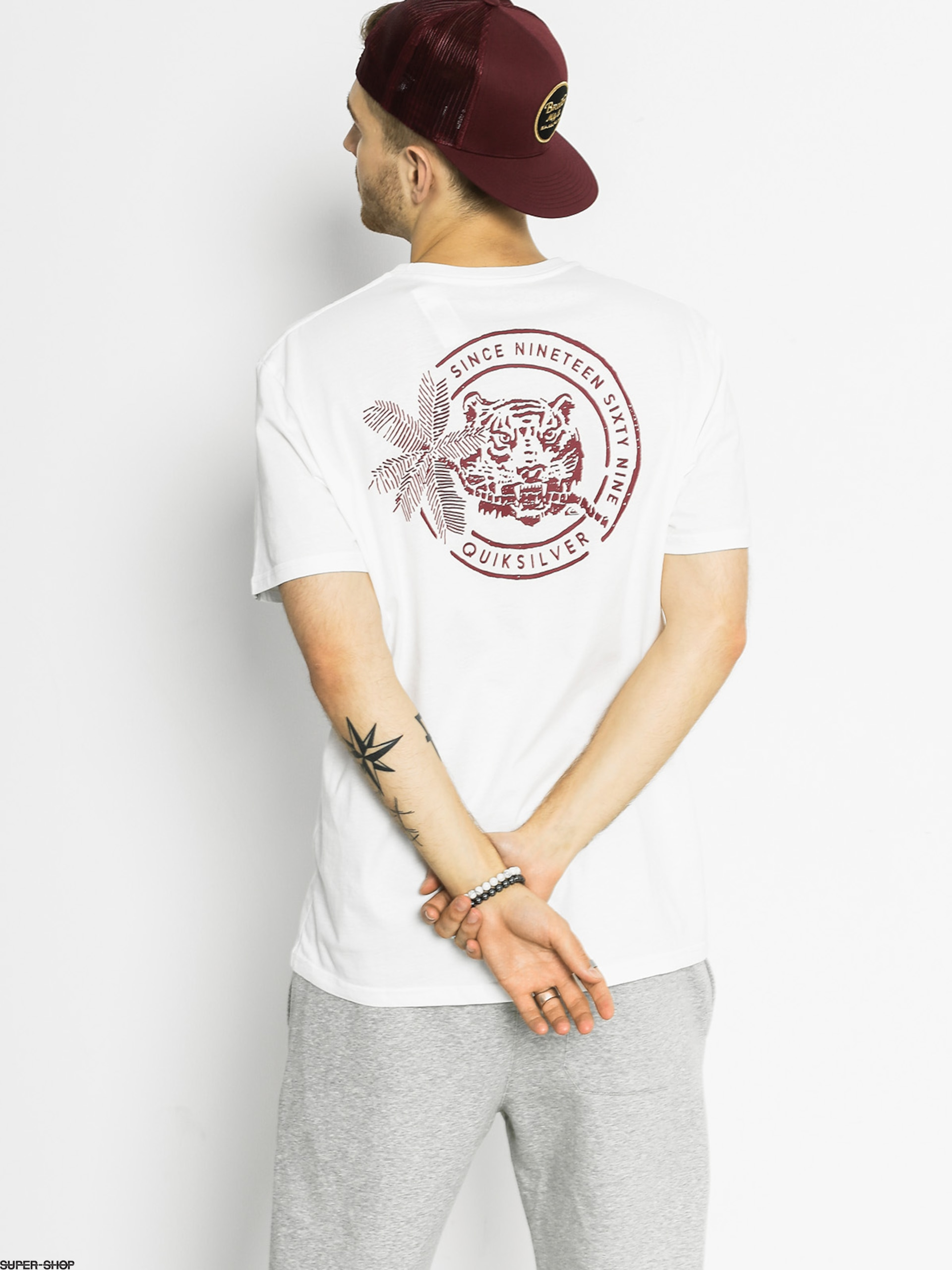 860098cad9 Quiksilver T-shirt Rad Tuger (white)