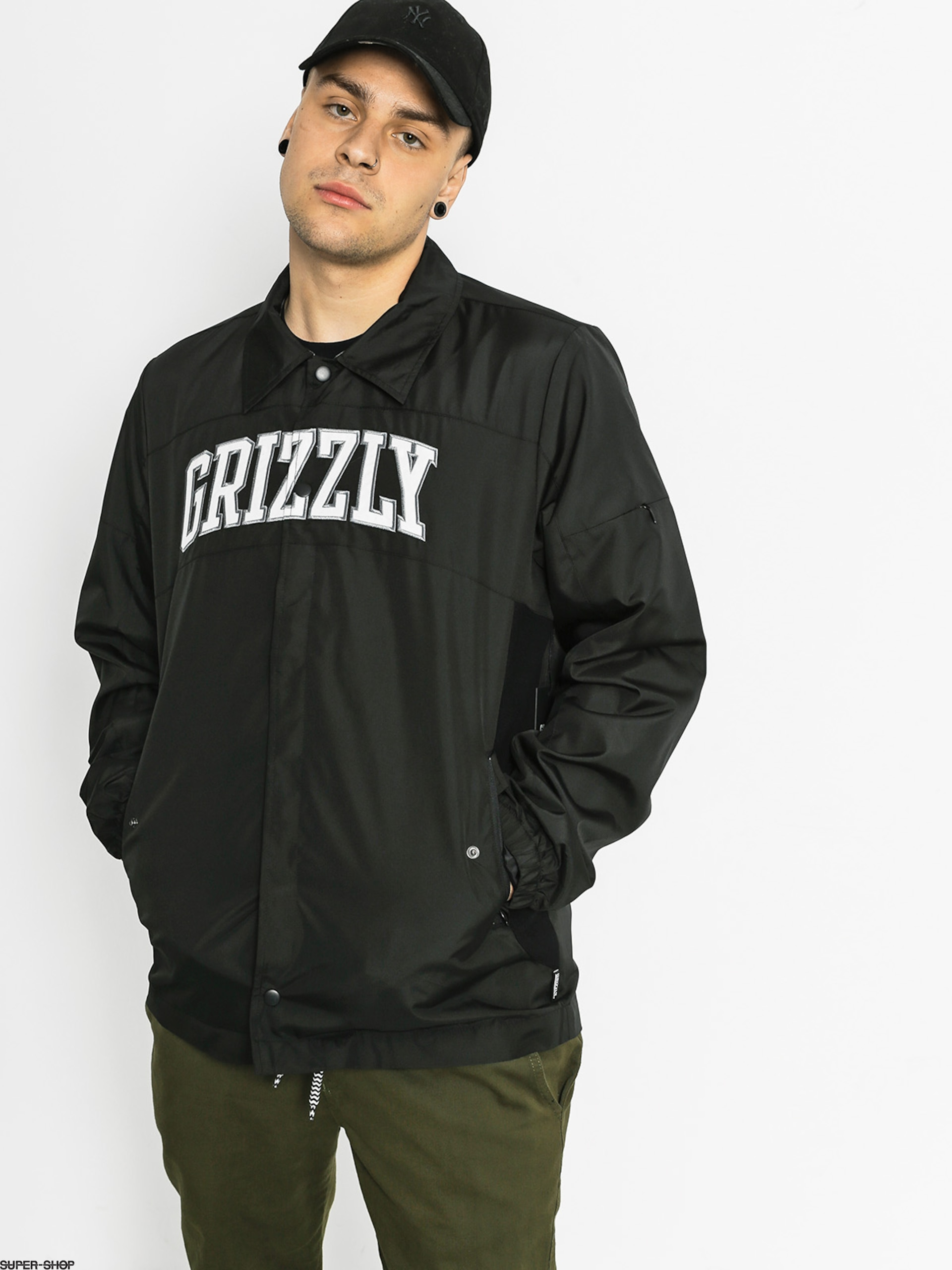 Grizzly Griptape Jacket Pinaccle Coaches (black)