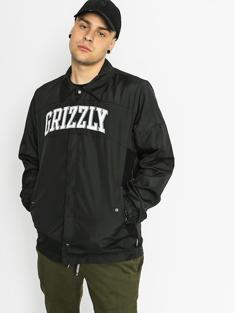 Grizzly Griptape Jacke Pinaccle Coaches (black)