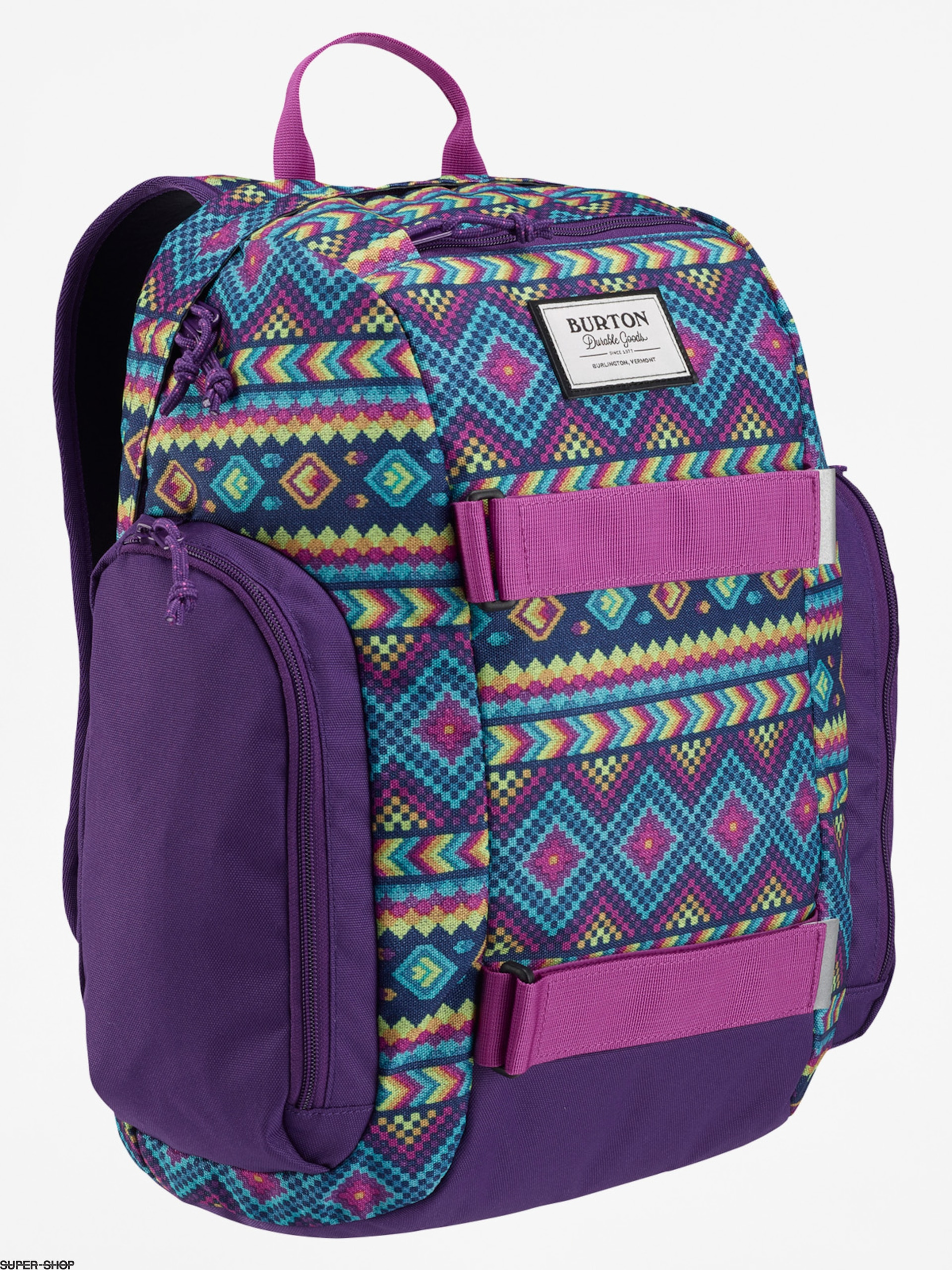 Burton Backpack Yth Metalhead (bohemia print)