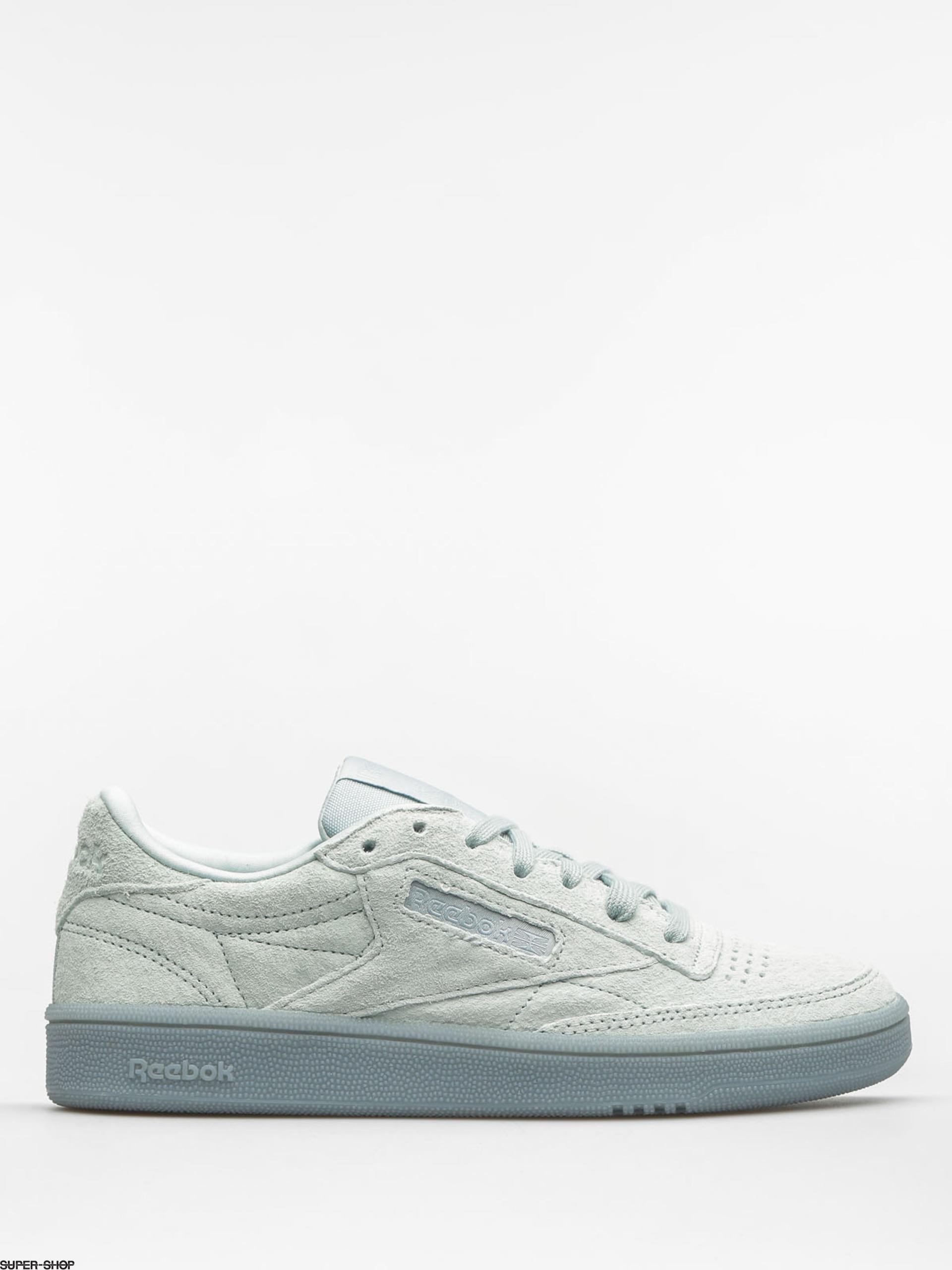d64c642f9dad3 Reebok Shoes Club C 85 Lace Wmn (seaside grey white)