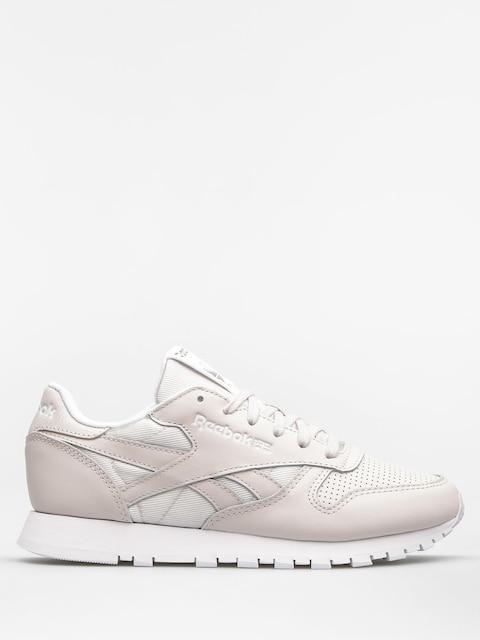 Reebok Schuhe Cl Lthr Fbt Wmn (lilac ash/wht/silver)