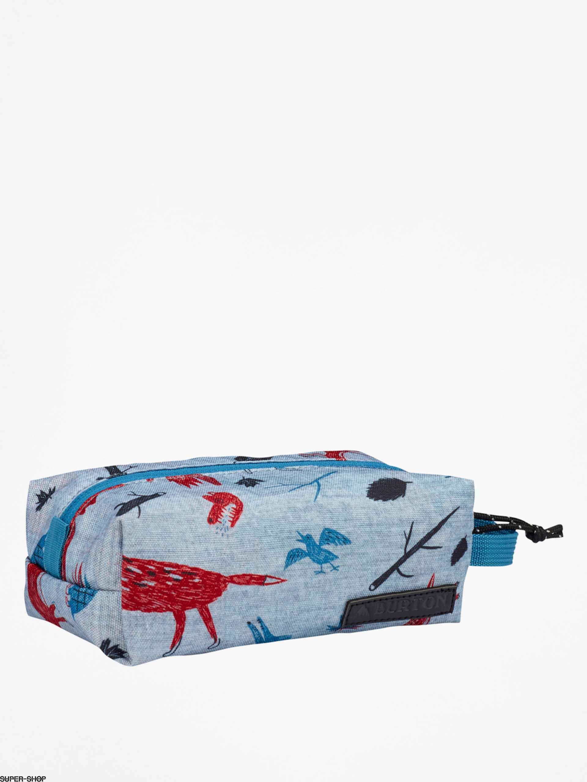 Burton Pencil case Accessory Case (big bad wolf print)