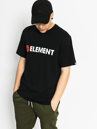 Element T-Shirt Horizontal (flint black)