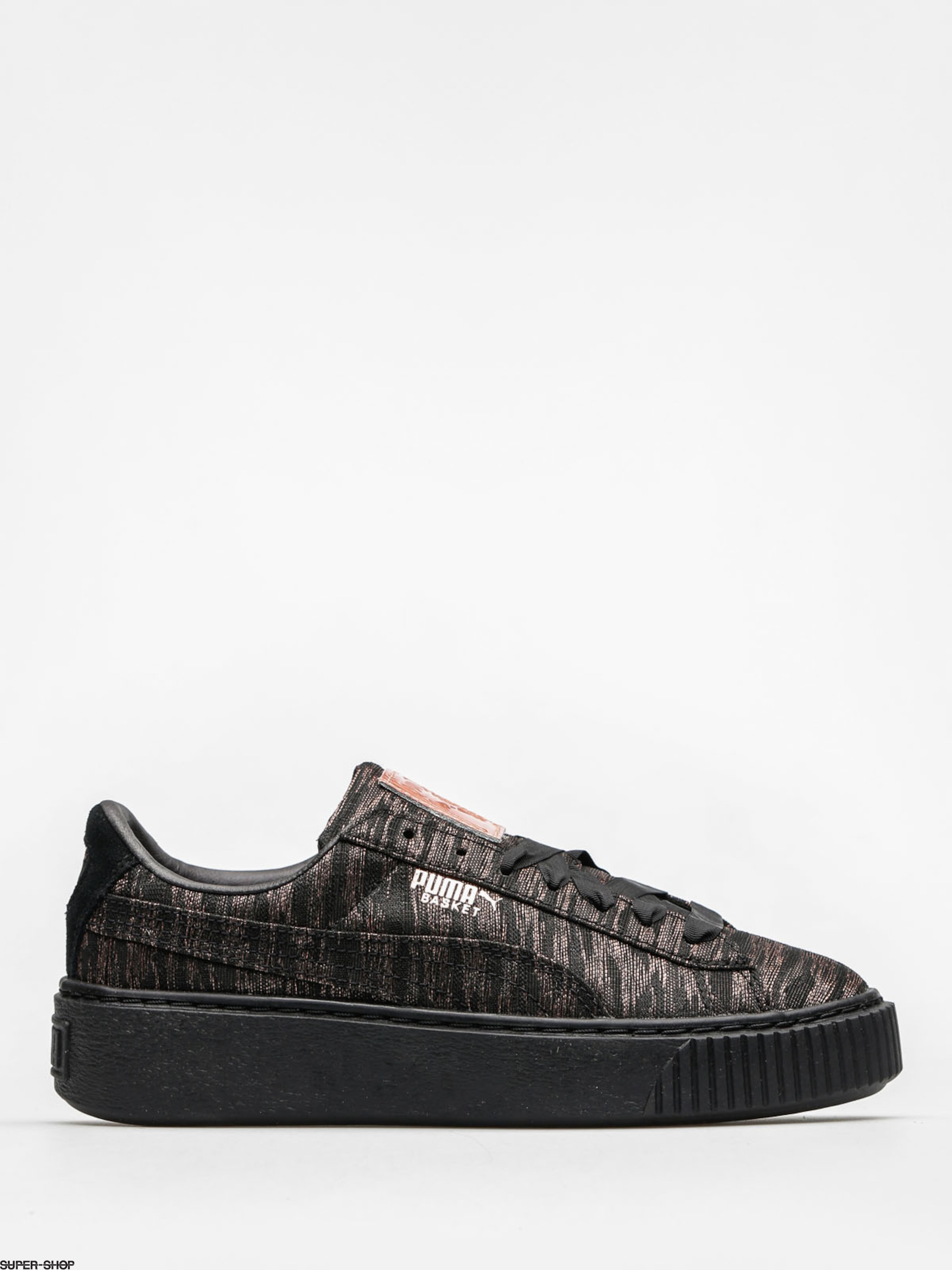 Puma Shoes Basket Platform Vr Wn S Wmn (puma black/puma black)