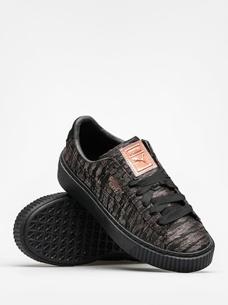 Puma Schuhe Basket Platform Vr Wn S Wmn (puma blackpuma black)