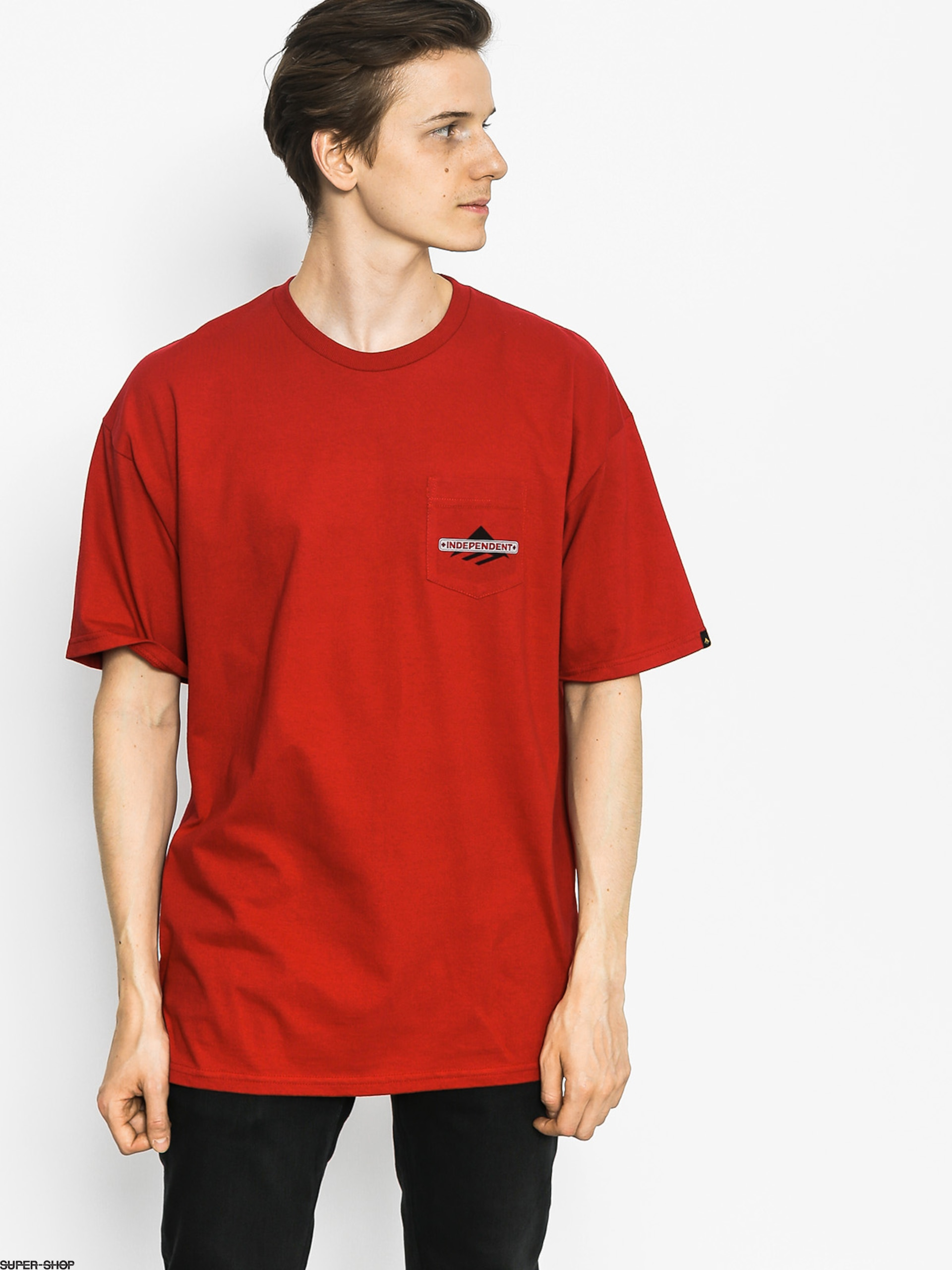 Emerica T-Shirt Indy Pocket (cardinal)