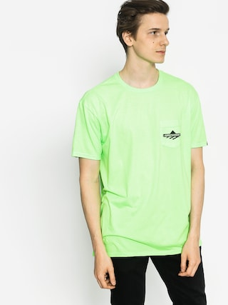 Emerica T-shirt Indy Pocket (neon)
