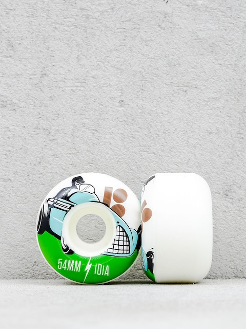 Plan B Wheels Racer (white/green)