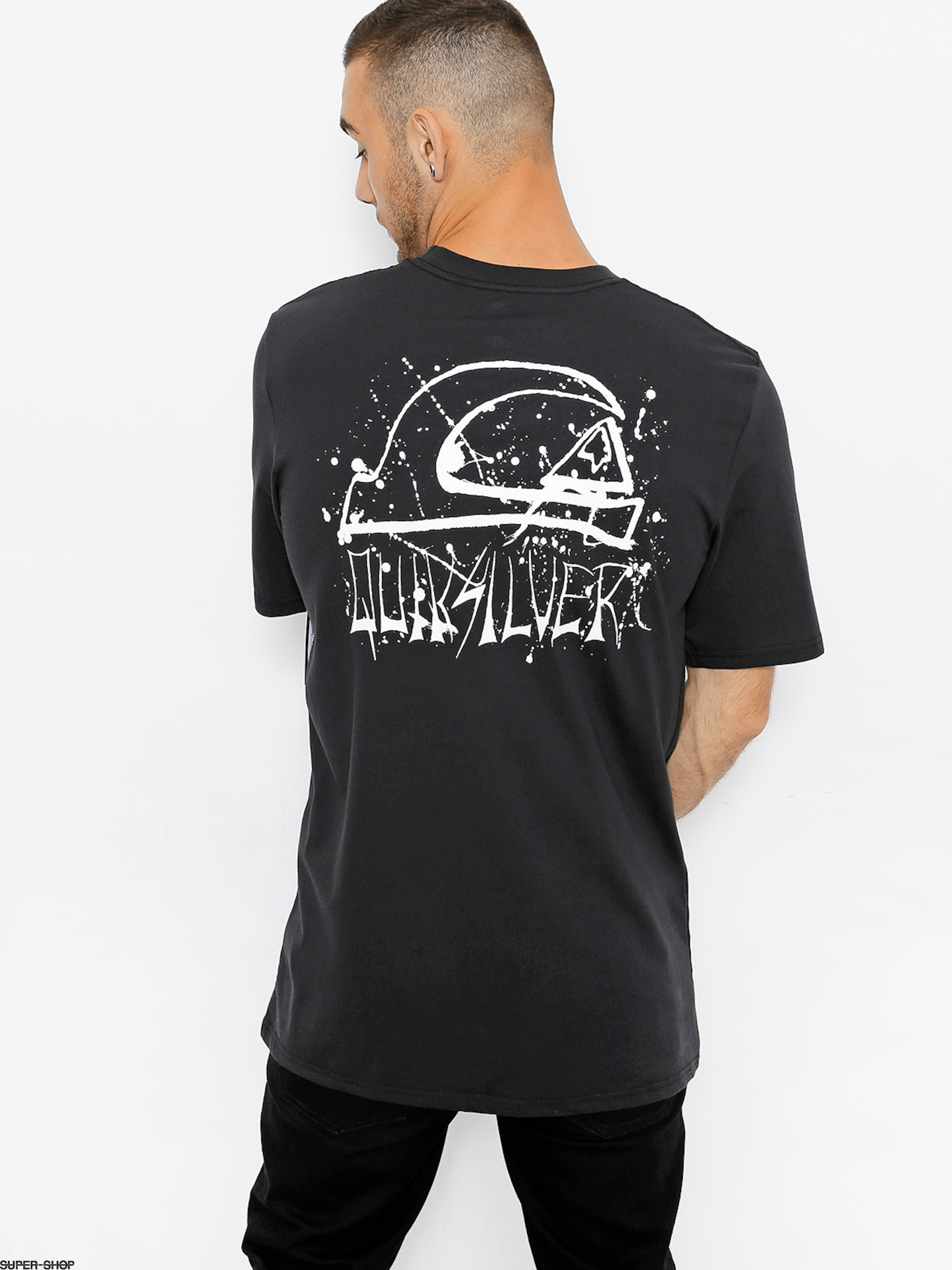 Quiksilver T-Shirt Neon Tendenciess (black)