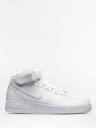 Nike Air Force 1 Mid 07 Shoes (white/white)