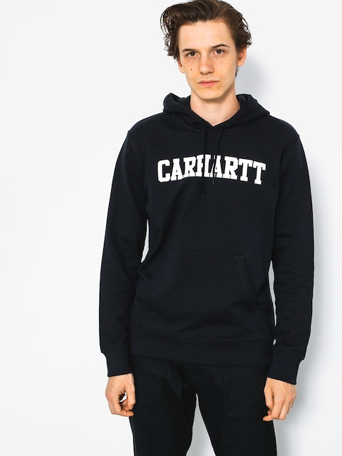 Carhartt Hoodie College HD (dark navy/white)